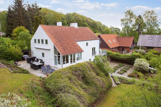 Villa på Vennelundsvej i Odder - Set fra haven