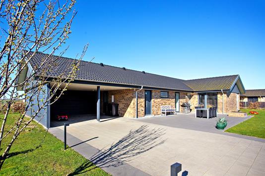 Villa på Hou Strandpark i Odder - Ejendommen