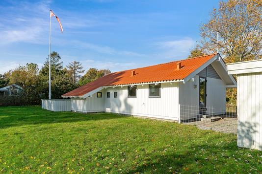 Fritidsbolig på Lyngbakkevej i Odder - Set fra haven