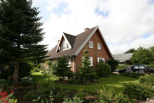 Villa på Hanningvej i Skjern - Facade