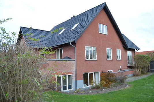 Villa på Grønningen i Skjern - Facade