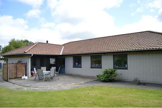 Villa på Vestervænget i Skjern - Facade