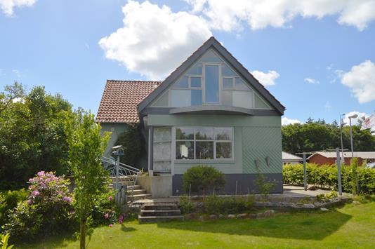 Villa på Vardevej i Skjern - Facade