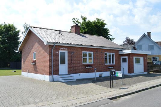 Villa på Flodgårdsvej i Skjern - Facade