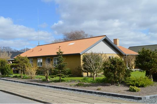 Villa på Elmevej i Skjern - Facade