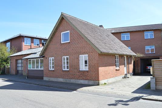 Villa på Enghavevej i Skjern - Facade