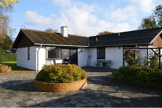 Villa på Elmealle i Skjern - Facade
