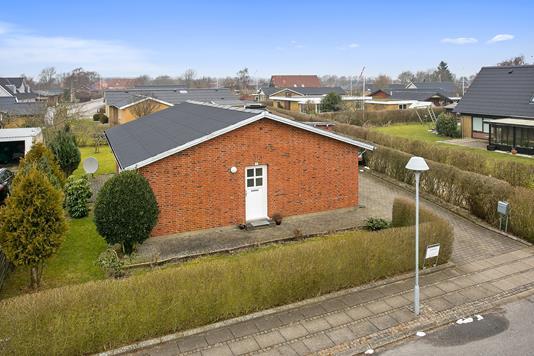 Villa på Violvej i Skjern - Facade