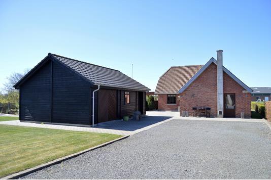 Villa på Fjordparken i Skjern - Facade