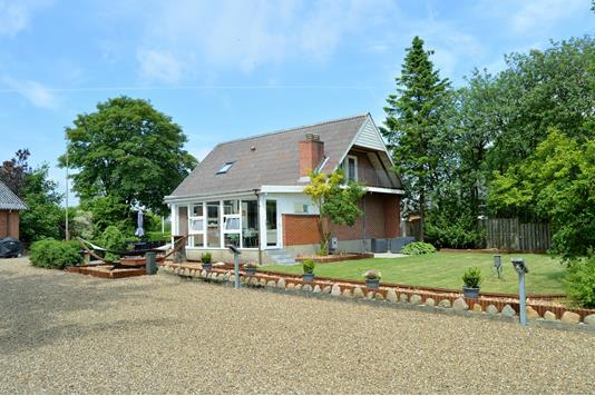Villa på Herborgvej i Skjern - Facade