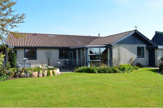 Villa på Pilevænget i Skjern - Facade