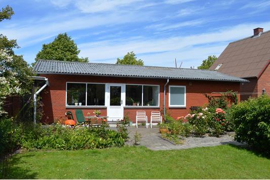 Villa på Vendersgade i Skjern - Facade havesiden