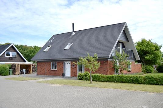 Villa på Åbrinken i Skjern - Facade