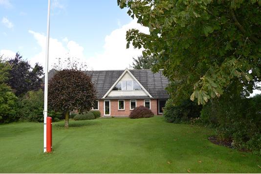 Villa på Fyrstenborgvej i Skjern - Facade