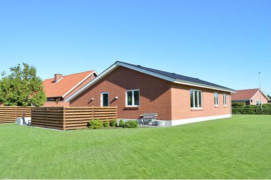 Villa på Uglbjergvej i Skjern - Facade