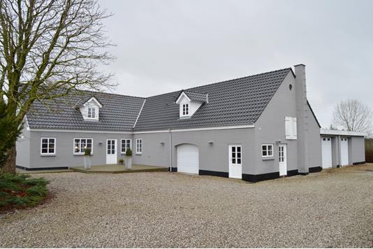 Villa på Grøndal i Skjern - Facade