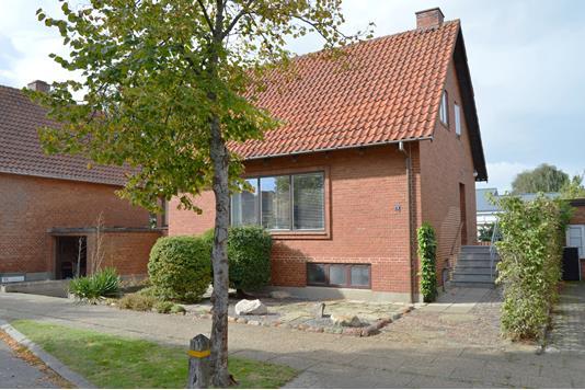 Villa på Grønnegade i Skjern - Facade
