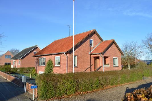 Villa på Lindealle i Skjern - Facade
