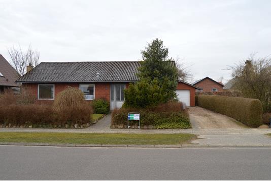 Villa på Birkevænget i Skjern - Facade
