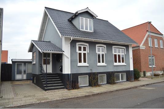 Villa på Tværgade i Skjern - Facade