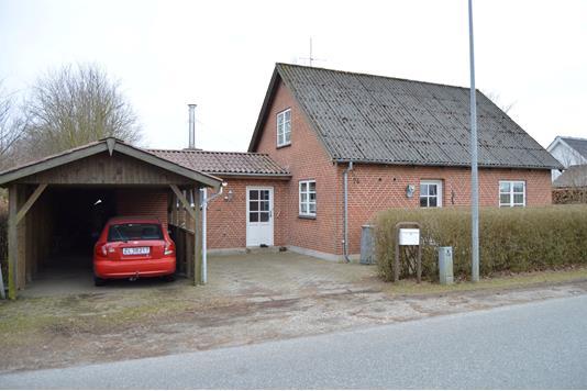 Villa på Egerisvej i Skjern - Facade