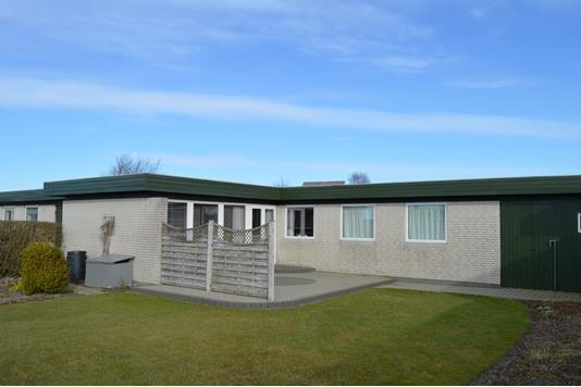 Villa på Amagervej i Skjern - Facade