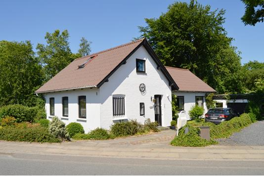 Villa på Skolevænget i Skjern - Facade