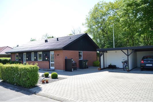 Villa på Præstevænget i Sønder Felding - Facade