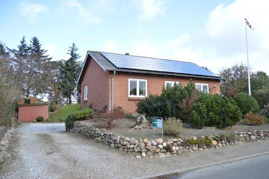 Villa på Kirkebyvej i Skjern - Facade
