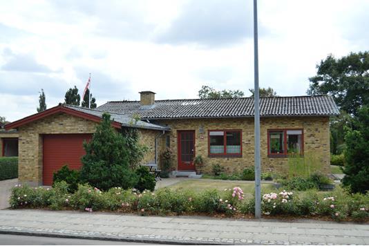 Villa på Langagervej i Skjern - Facade