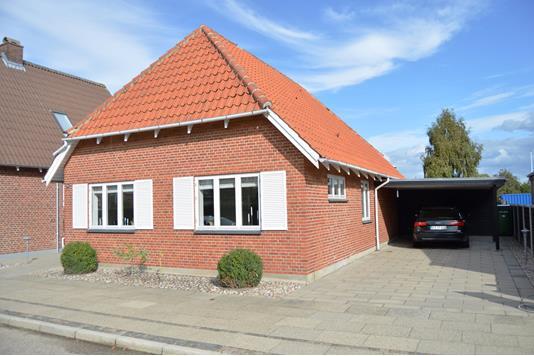 Villa på Marupvej i Skjern - Facade