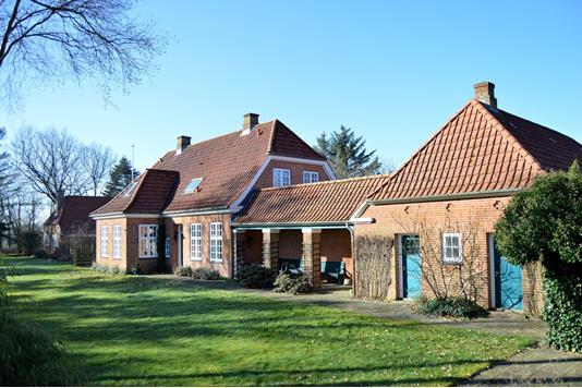 Villa på Kongsholm St Vej i Skjern - Facade
