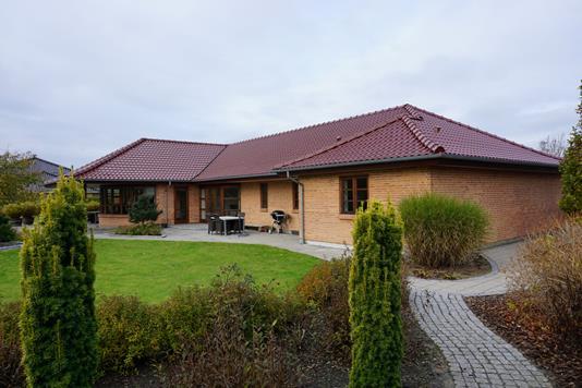 Villa på Birk Skovpark i Skjern - Facade