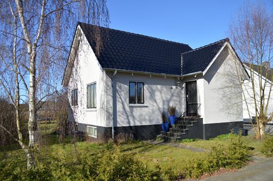 Villa på Lundevej i Skjern - Facade