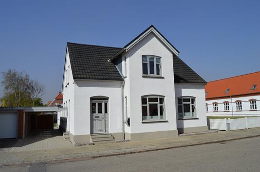 Villa på Nørregade i Skjern - Facade