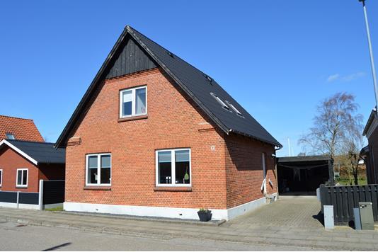 Villa på Fyrrevænget i Skjern - Facade