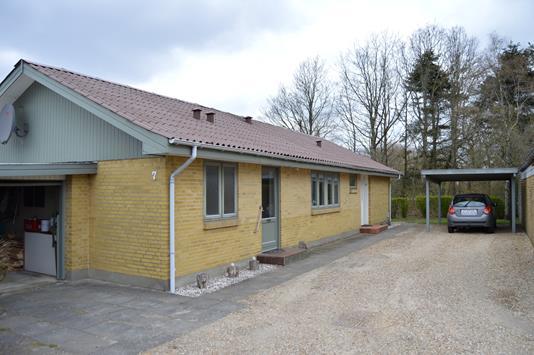 Villa på Solsikkevej i Sønder Felding - Facade
