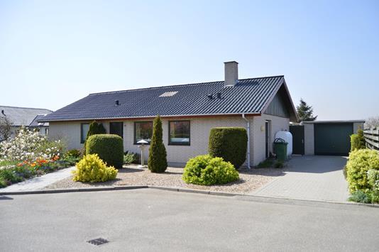 Villa på Skrænten i Skjern - Facade