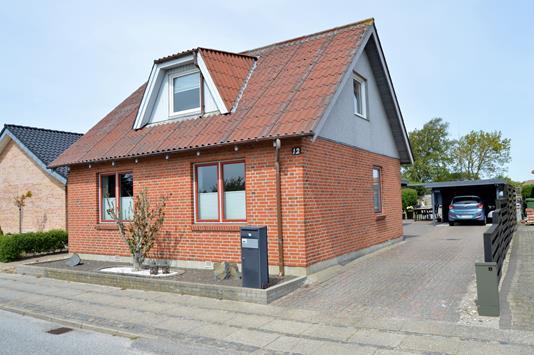 Villa på Klostervej i Skjern - Facade