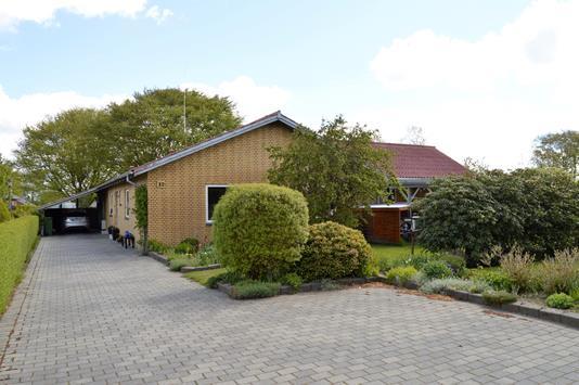 Villa på Møllegårdsvej i Skjern - Facade