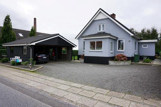 Villa på Højevej i Skjern - Facade