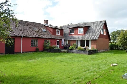Villa på Dejbjergvej i Skjern - Facade