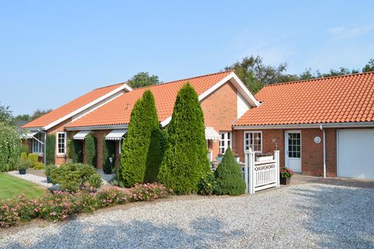 Villa på Møllebakken i Skjern - Facade