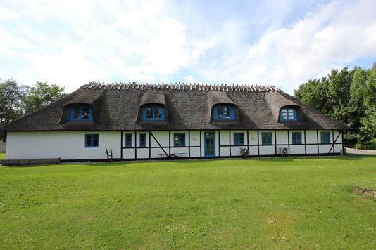 Villa på Algestrupvej i Stubbekøbing - Ejendommen
