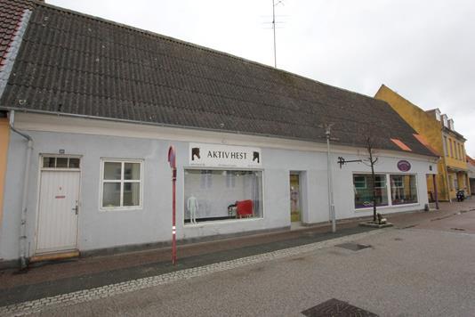 Villa på Vestergade i Stubbekøbing - Facade