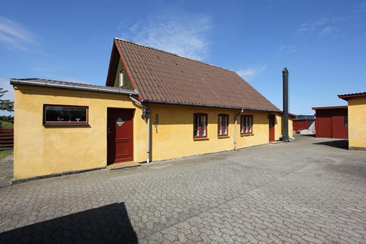 Villa på Herbergervej i Nørre Alslev - Ejendommen