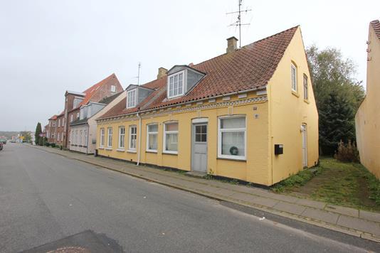 Villa på Søvej i Nykøbing F - Ejendommen