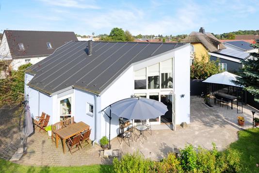 Villa på Miljøvænget i Nørre Alslev - Ejendommen
