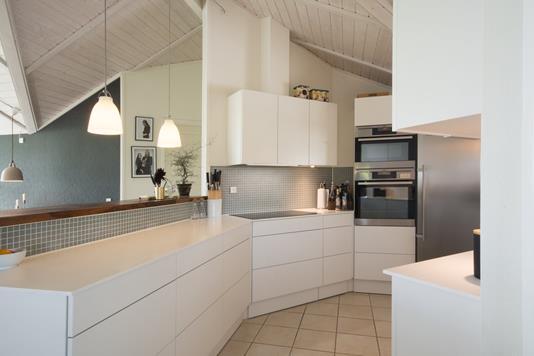 Villa på Højstedgårdvænget i Idestrup - Køkken