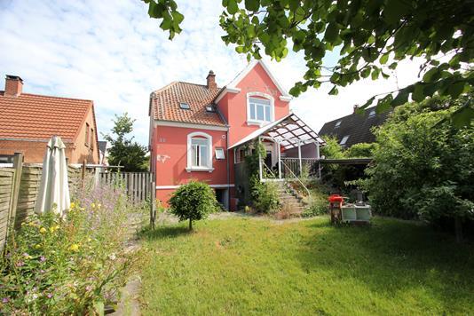 Villa på Kreibergsgade i Nykøbing F - Ejendommen